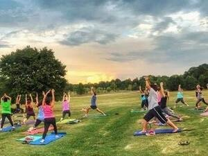 Yoga in the Park: Ronald Reagan Park