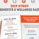 Save the Date: 2019 UTRGV Benefits & Wellness Fair