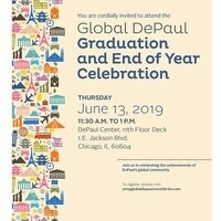 Global DePaul Graduation and End of Year Celebration