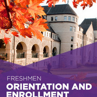 Orientation and Enrollment for new freshmen