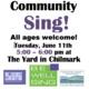 Community Sing