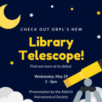 Check Out the Library's Telescope