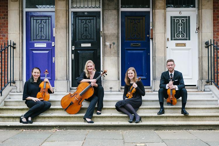 2019-20 Schneider Concerts Chamber Music Season - Callisto String Quartet