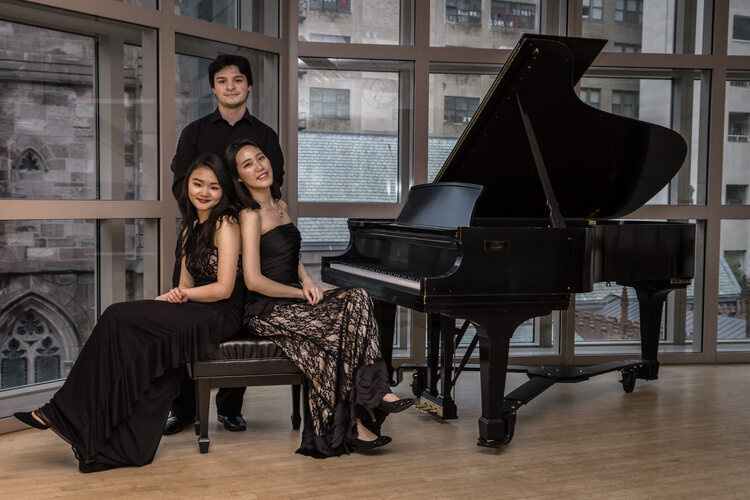 2019-20 Schneider Concerts Chamber Music Series - AYA Piano Trio - NY Debut