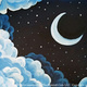 Family Room Art Class: 6/1 Midnight Moon for ages 7+