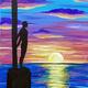 Paint and Sip Art Class: Santa Cruz Surfer for ages 21+