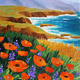 Paint and Sip Art Class: California Coast for ages 21+