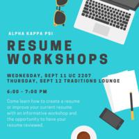 Alpha Kappa Psi Resume Workshop