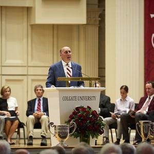 Bicentennial Address: Colgate's Third-Century Plan