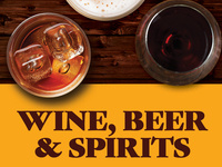 Wine, Beer & Spirits