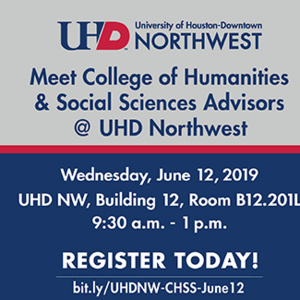 College of Humanities & Social Sciences Open House at UHD NW