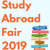 2019 Study Abroad Fair