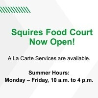 Squires Food Court Now Open!