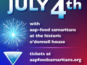 Independence Day Celebration & Fundraiser for AAP – Food Samaritans