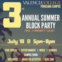 3rd Annual Summer Block Party