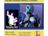 Senegalese and Afrojazz with Massamba Diop
