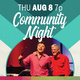 "Community Night ""Pay What You Can"" Concert"