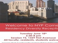 Welcome to NYP Cornell Residency Diversity Reception