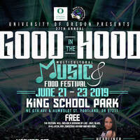 27th Annual Good in the Hood Multicultural Music, Arts & Food Festival