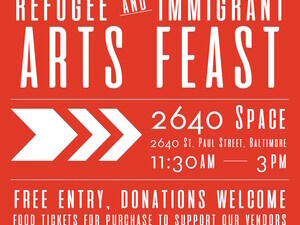 Mera Kitchen Collective's Refugee and Immigrant Arts Feast