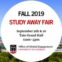 35th Annual UGA Study Away Fair