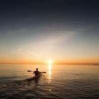 Sunset Kayak & Campfire