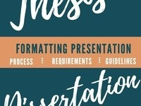Thesis and Dissertation Format Presentation