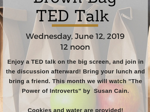 TED Talk at the Museum