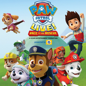 Paw Patrol Live! Race to the Rescue - 3 showtimes!