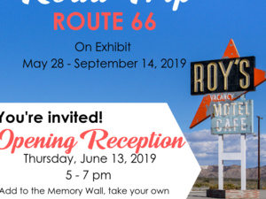 Opening Reception- Roadtrip Route 66