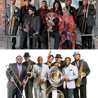 Squirrel Nut Zippers and Dirty Dozen Brass Band