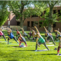 The Women of Silver & Blue Presents: Yoga on the Quad