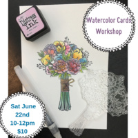 Watercolor Cards Workshop