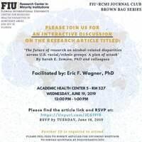 FIU-RCMI Journal Club: Brown Bag Series