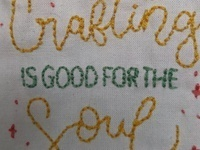 Sip and Stitch: Tea Towel Embroidery