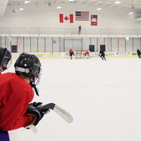 LU Hockey Camp Week 1 Check-In