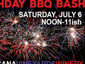 4th of July Birthday BBQ Bash