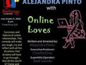 Alejandra Pinto with Online Loves