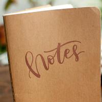 DIY Heat-Embossed Journals