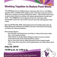 Working Together to Reduce Food Waste