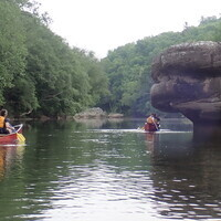 Big South Fork Wilderness Canoe Overnight