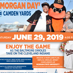 'Morgan Day' @ Camden Yards