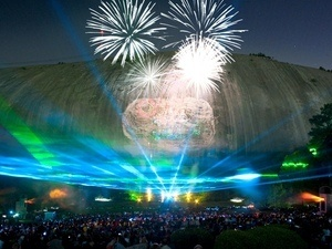 Lasershow Spectacular at Stone Mountain Park