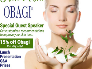 Contour Dermatology Obagi Lunch and Learn