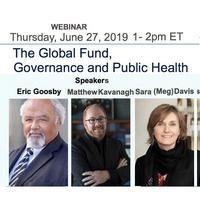 Webinar:  The Global Fund, Governance and Public Health