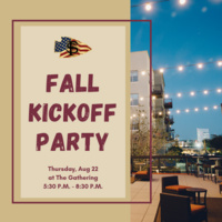 FSU Student Veterans Fall Kickoff Party