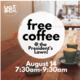 First Day Free Coffee