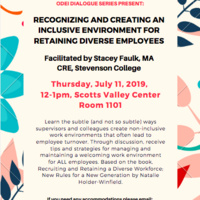 Recognizing and Creating an Inclusive Environment for Retaining Diverse Employees