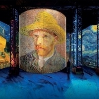 Atelier des Lumières - Van Gogh and Japanese Art