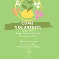 Come Volunteer at the Communiversity Gardens
